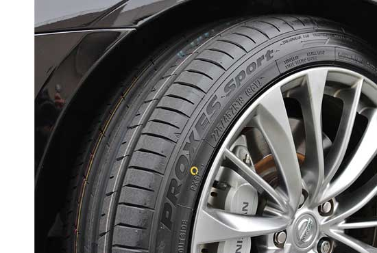 タイヤ交換時のアライメント調整を強く推奨中