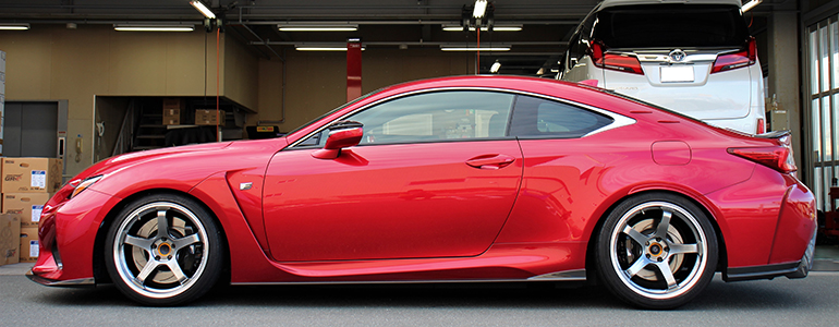 LEXUS RC-F × YOKOHAMA ADVAN Racing GT BEYOND